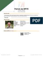 Patrick Brye Crux Fidelis
