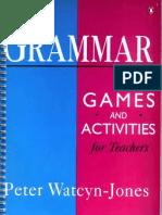 Grammar-Games and Activities for Teachers