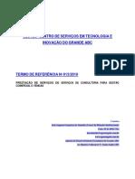TERMO DE REFERENCIA CONSULTORIA GESTÂO COMERCIAL E VENDAS