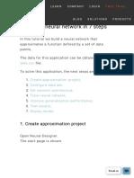 Create a neural network in 7 steps _ Neural Designer