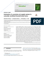 dairy barn supply air