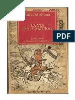 Literatura - Japonesa - Mishima, Yukio - La via del Samurai.doc