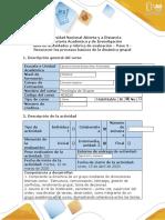 Guía de actividades y Rubrica de evaluación - Paso 3 - Reconocer los procesos de la dinámica grupal.docx