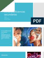 Equipo 4 Inmunodeficiencias Secundarias