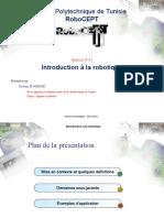 Introduction à la robotique