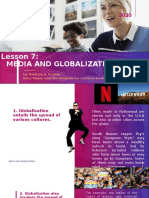 Lesson 7 Media and Globalization