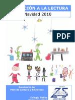 Invitacion a La Lectura Navidad 2010