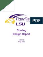 18 cooling design report