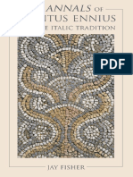 Fisher, Jay - The Annals of Quintus Ennius and the Italic Tradition (2014, Johns Hopkins University Press)