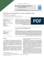 Tratamiento de la enfermedad por cristales de pirofosfato calcico