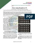 Smart Door Using Raspberry Pi