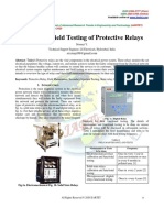 Review on Field Testing of Protective Relays
