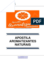 Apostila Aromatizantes Artesanais