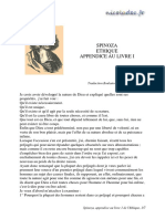 ethique spinoza  cours 1