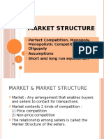 Market Structure- Basic theory & concepts