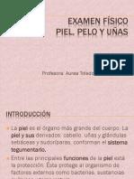 Examen Físico PIEL, PELO Y UÑAS