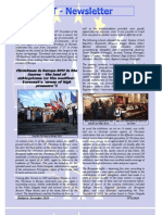 Newsletter of December 2010