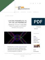 Locura parabólica_ el _Pi_ de las parábolas - Gaussianos
