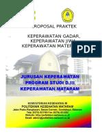 PROPOSAL PRAKTEK KMB II, ANAK & MATERNITAS  2020 DARING