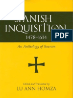 Spanish Inquisition, 1478-1614 Sources