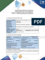 Guía de actividades y rúbrica de evaluación Tarea 1 - Taller fundamentos de Ingeniería.docx