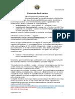 Protocolo Anti-Vacina com MMS