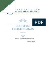Culturas Ecuatorianas Ayer y Hoy