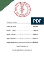 Practica Fisica Mecanica II
