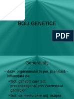 B. Genetice