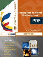 Transporte en Cifras - Estadisticas 2014