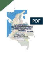 Caracterización del Transporte Terrestre Automotor de Carga en Colombia 2005-2009 pub.pdf