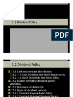 3.2 Dividend Policy