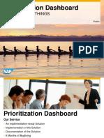 Prioritization Dashboard