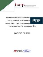Análise_Tecnologias de informação_relatório Síntese