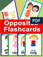 Opposites Flashcards