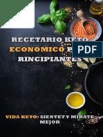 RECETAS DE LA DIETA KETO