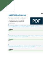CUESTIONARIO AA2