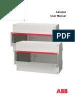 ABB A44 A43 User Manual