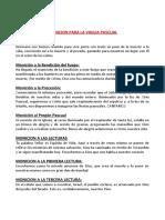MONICIONES SABADO DE GLORIA