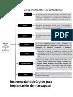 cotizacion instrumental marcapsos