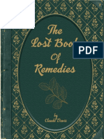 Lost Book Remedies by Claude Davis