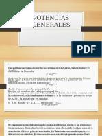 POTENCIAS GENERALES