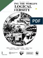 LIBRO_1990_MCNEELY, Jeffrey A et al_Conserving the world's biological diversity.