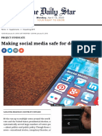 004. Making social media safe for democracy