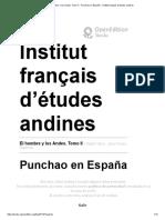 Julien Catherine -  Punchao en España