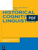 (Cognitive Linguistics Research, Vol. 47) Margaret E. Winters, Heli Tissari, Kathryn Allan-Historical Cognitive Linguistics-De Gruyter Mouton (2010).pdf