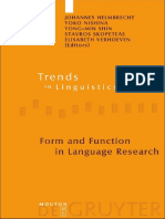 (Trends in Linguistics, Studies and Monographs 210) Johannes Helmbrecht, Stavros Skopeteas, Yong-Min Shin, Elisabeth Verhoeven-Form and Function in Language Research_ Papers in Honour of Christian Leh.pdf