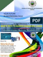 Brochure for workshop