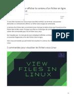 linuxhandbook.com-font stylevertical-align inheritfont stylevertical-align inherit5 commandes pour afficher le contenu