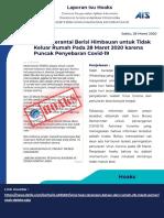 Laporan Isu Hoaks Harian Direktorat Pengendalian Aplikasi Informatika Direktorat Jenderal Aplikasi Informatika Sabtu 28 Maret 2020.pptx.pdf